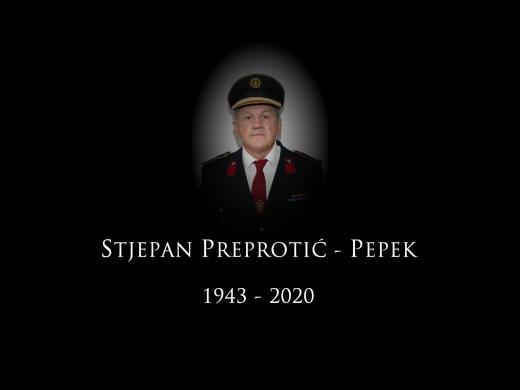 Preminuo Stjepan Preprotić Pepek