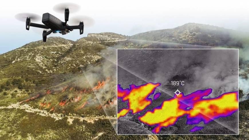 Tele2 donacija – vatrogasni dron